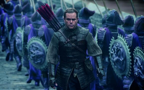Matt Damon protagoniza una de las tantas leyendas sobre la Muralla China.