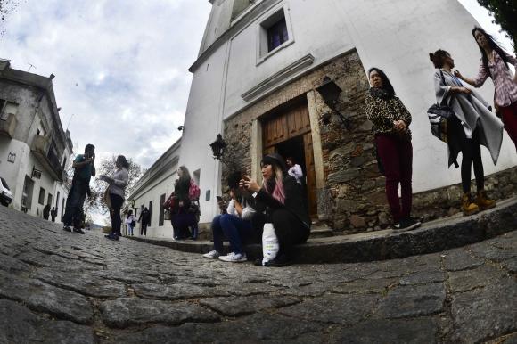 La Basílica del Santísimo Sacramento es la iglesia más antigua de Uruguay. Foto: G. Pérez