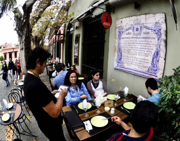 Anjo Preto es una buena idea para un almuerzo o cena en el Barrio Histórico. Foto: G. Pérez