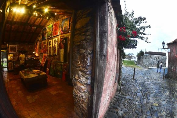 La Galería de los Suspiros atrae a turistas extranjeros. Foto: G. Pérez