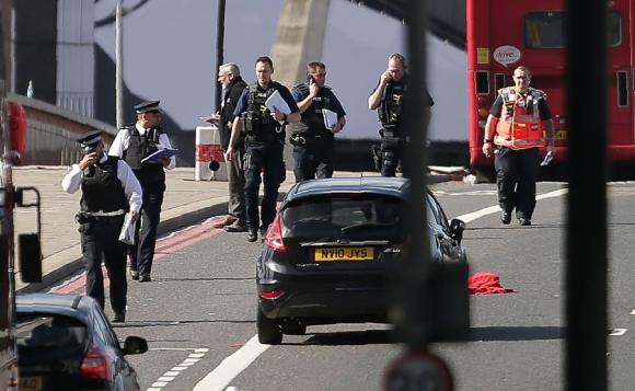 La Policía detuvo hasta el momento a 12 personas. Foto: AFP
