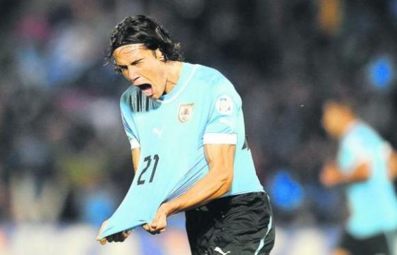 El triunfo le da vida a Uruguay en las Eliminatorias y también en las campañas publicitarias de 2013-2014. Foto: Julio Barcelos