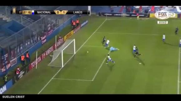 Nacional URU 0 X 1 Lanús ARG Gol Alejandro Silva Libertadores da América 23052017