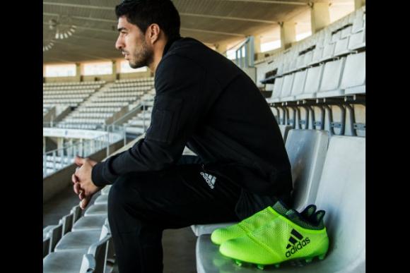 Luis Suárez, Paul Pogba y Lionel Messi son las caras de los nuevos botines de la línea Ocean Storm.