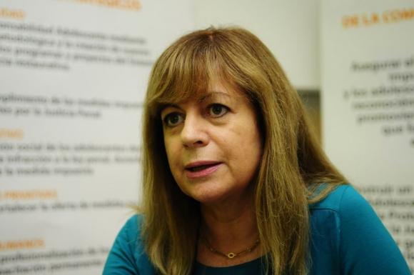 Gabriela Fulco, directora del Sirpa. Foto: Marcelo Bonjour