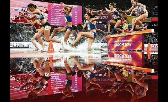 Las mejores imágenes del Mundial de Atletismo Londres 2017. Foto: EFE