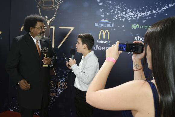 Entrevistado por otros medios luego de recibir el premio.