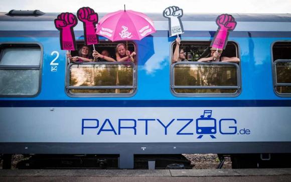 Manifestaciones en la previa del G20 en Hamburgo. Foto: Reuters