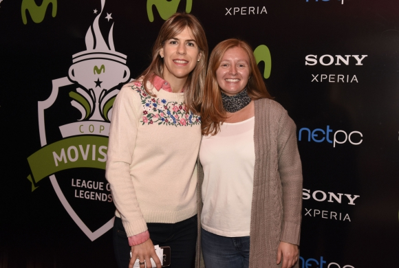 Lucía Barbosa y Virginia Rico de Movistar