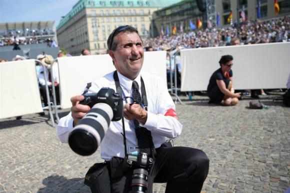 Peter Souza fue dos veces fotógrafo de la Casa Blanca, se despidió el día que Obama dejó de ser presidente.