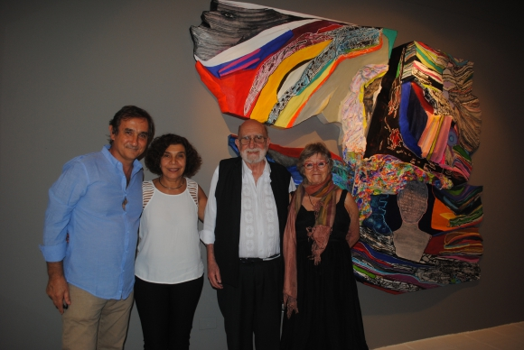 Martín Castillo, Graziella Zito, Luis Felipe Noé, Cecil Seigan.
