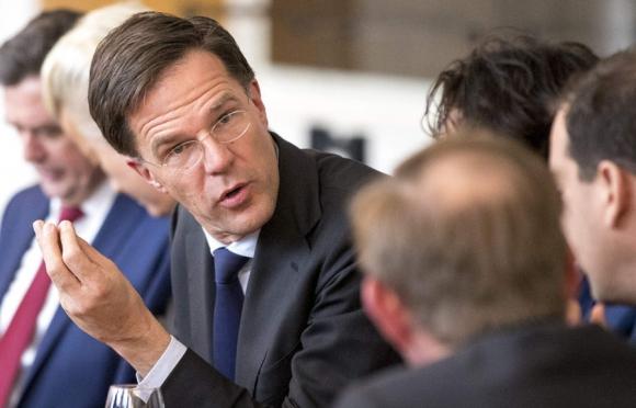 El primer ministro holandés salió como el gran ganador de las elecciones. Foto: AFP