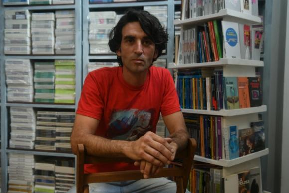 Martín Fernández, un editor que defiende el compromiso con los libros.