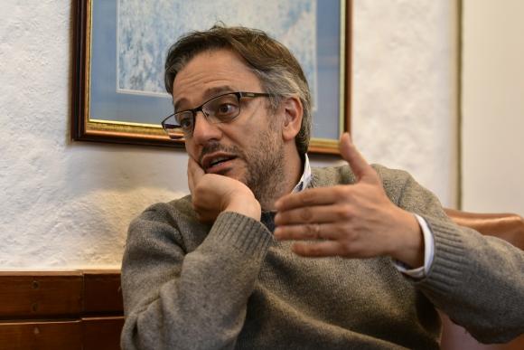 Rodrigo Arim, decano de la Facultad de Ciencias Económicas de la Udelar. Foto: Marcelo Bonjour.