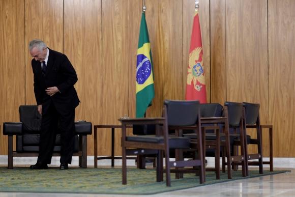 Si los diputados avalan la denuncia, Temer estará suspendido por 18 días. <br>Foto: Reuters