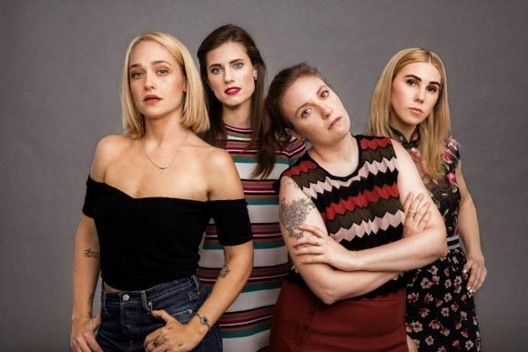 Con Jessa, Hannah y Shoshanna completa el cuarteto de las <i>Girls.</i>