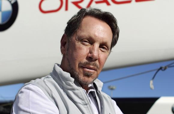 Larry Elison. Fundador y presidente ejecutivo de Oracle.
