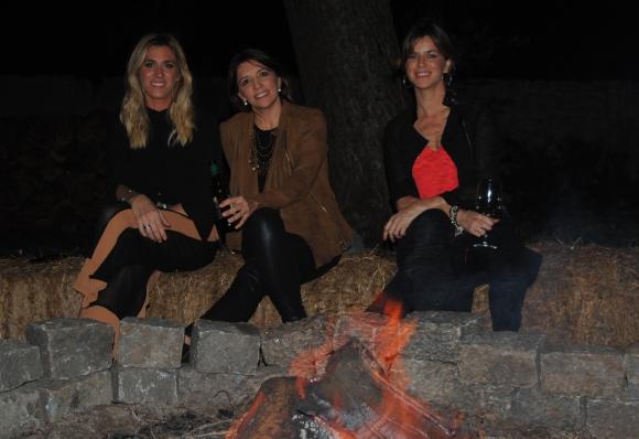 Victoria Damiani, Verónica Flores, María José Lenguas.