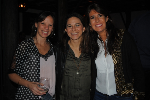 Andrea Queralto, Josefina Comas, Annette Paullier.