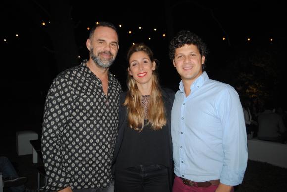 Rodrigo Buxstein, Macarena Cristiani, Gabriel Fernández.