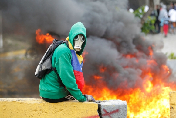 La oposición convocó para hoy nuevas marchas en Caracas contra el gobierno. <br>Foto: Reuters