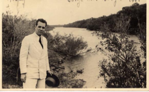 Jorge Luis Borges. Foto: Gentileza Pelayo Amorim