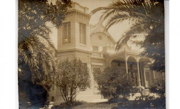 Villa Esther, la quinta de la familia Haedo en el Prado. Foto: Gentileza Pelayo Amorim