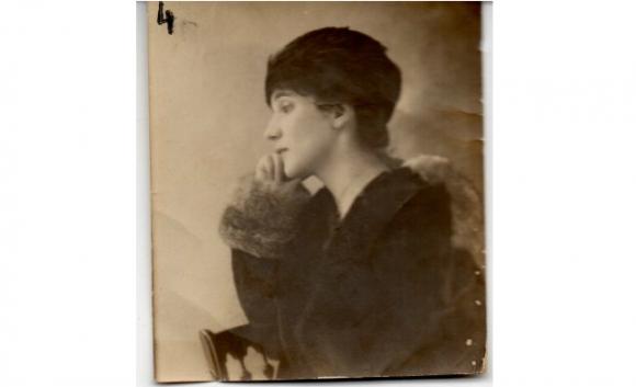 Leonor Acevedo, madre de Borges, en Buenos Aires. Foto: Gentileza Pelayo Amorim