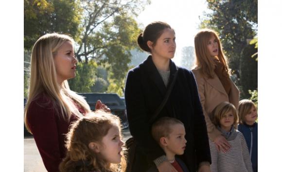 Shailene Woodley, Reese Whiterspoon y Nicole Kidman