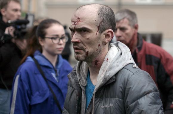 Atentado en San Petersburgo dejó 11 muertos. Foto: AFP