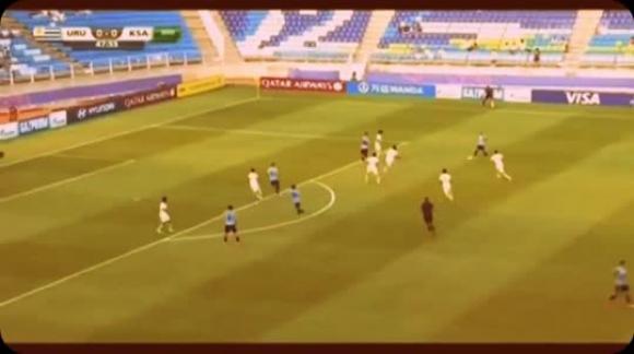 Uruguay 1-0 Arabia Saudita (Mundial sub 20 2017)