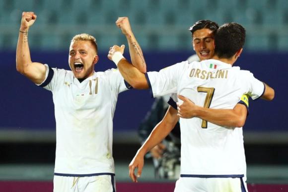 Italia dio la gran nota en octavos de final eliminando a Francia. Foto: @Vivo_Azurro