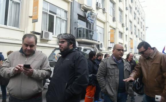 Paro y manifestación del Pit-Cnt. Foto: Ariel Colmegna.