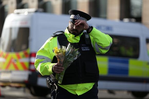 Londres homenajea a las víctimas del atentado. Foto: AFP
