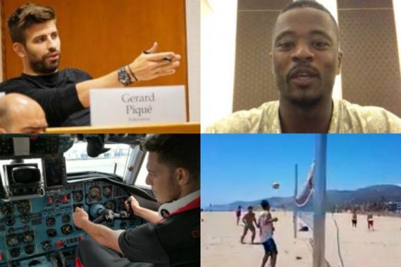 Piqué en Harvard, el conductor del Boston, Ronaldinho en la playa y más
