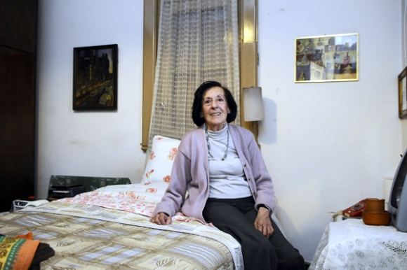 Nelda González tiene 89 años y hace 38 que vive allí. Foto: Darwin Borrelli.