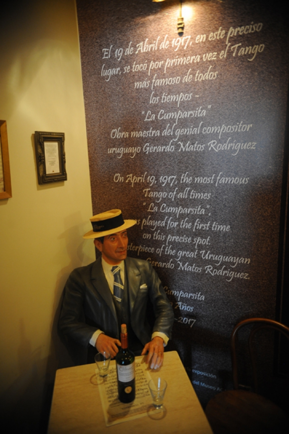 En la Planta Baja abrió sus puertas el Museo del Tango, que también rinde homenaje a Gerardo Matos Rodríguez y La Cumparsita. Foto: Fernando Ponzetto.