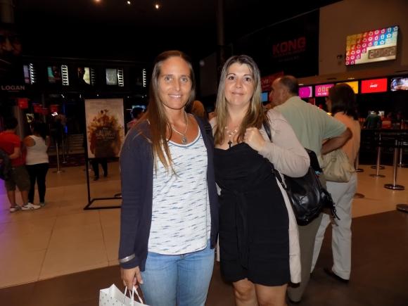 María Fernanda Stevens, Valeria Alzubides.