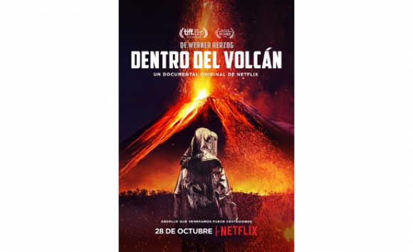 Afiche de Dentro del volcán (2016)