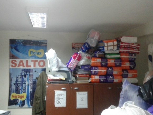 Pañales, mantas y frazadas son los ítems demandados por la casa de Salto