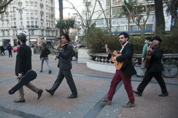 El Cuarteto del Amor cumplió seis años. Foto: Fernando Ponzetto.
