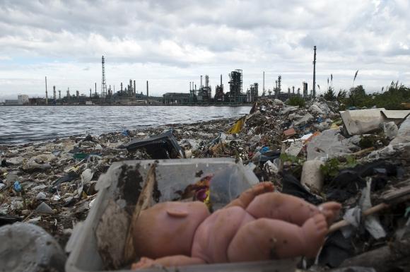 La IMM aún no tiene fecha para la limpieza de la Playa Capurro. Foto: Fernando Ponzetto