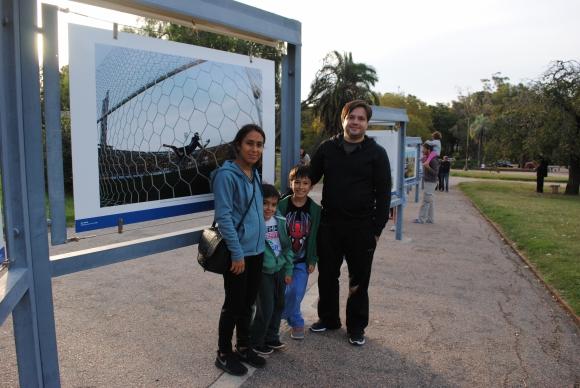 Roxana Coitiño, Guzmán, Santiago e Ignacio Bidegain.