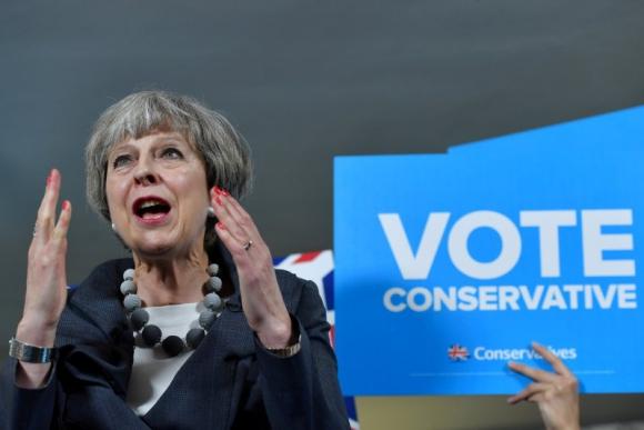 Theresa May, primera ministra del Reino Unido. Foto: Reuters.