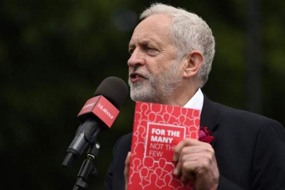 Jeremy Corbyn, candidato del partido Laborista. Foto: AFP.