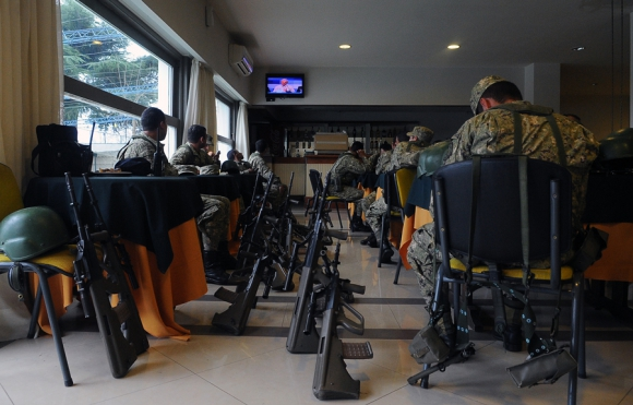 Los jubilados militares se resisten a la reforma de la Caja Militar. Foto: F. Ponzetto