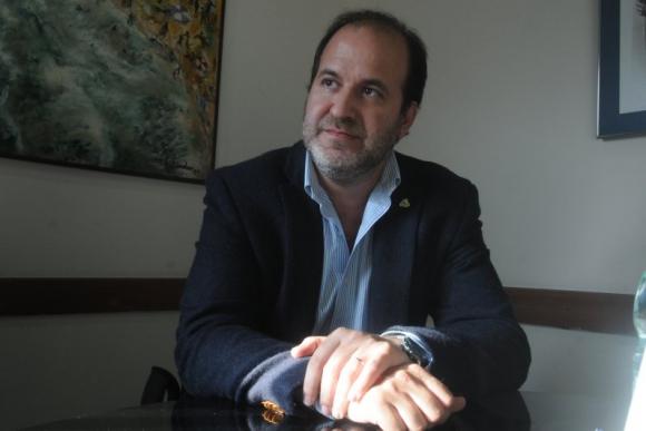 Julio Trostchansky, candidato a la presidencia de Peñarol. Foto: Ovación TV.