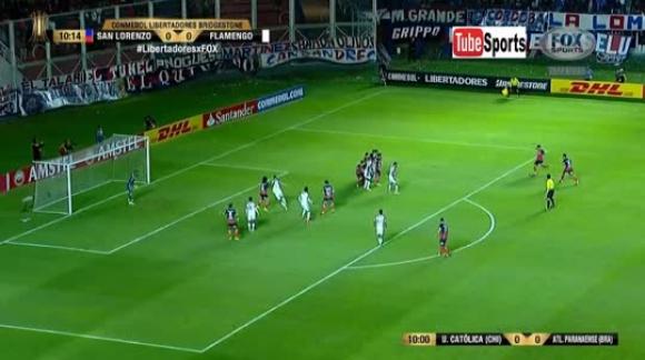 San Lorenzo vs Flamengo 2-1 RESUMEN GOLES Copa Libertadores 17052017