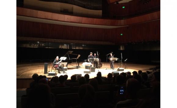 Quinteto Astor Piazzolla en la Sala Sinfónica, Centro Cultural Kirchner (foto László Erdélyi)