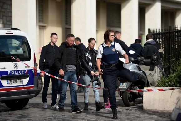 Ataque en París. Foto: AFP